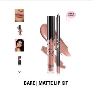 Kylie lip kit set - Bare